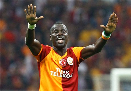 Eboue in bizarre 'God' text spree!