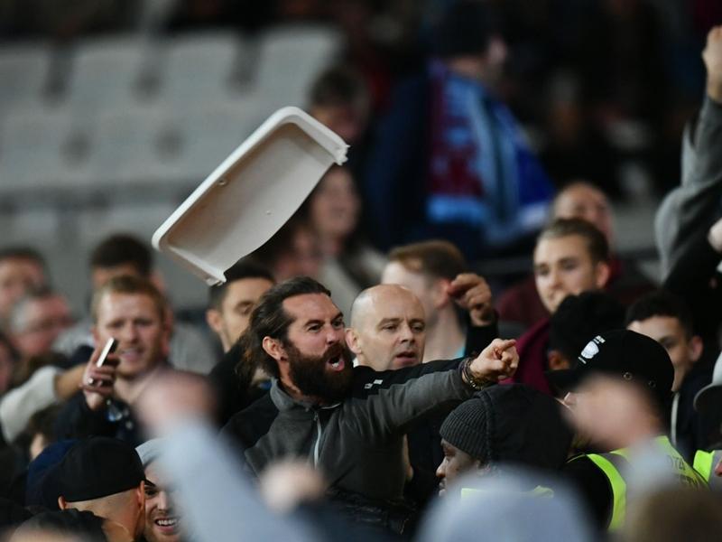 200 interdictions de stade suite aux débordements lors de West Ham-Chelsea
