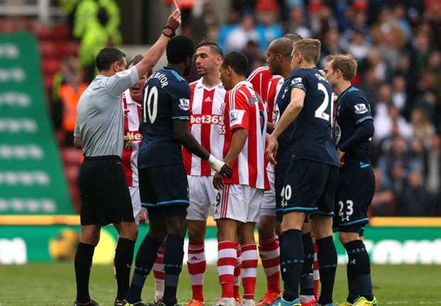 Sherwood: Shawcross red card was fair