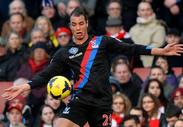 Crystal Palace striker Marouane Chamakh