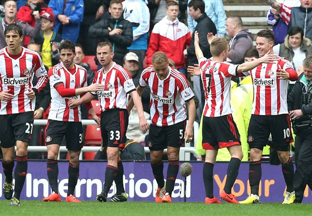 Sunderland 4-0 Cardiff City: Poyet's men climb out of dropzone