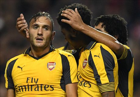 Arsenal's Lucas Perez out for six weeks
