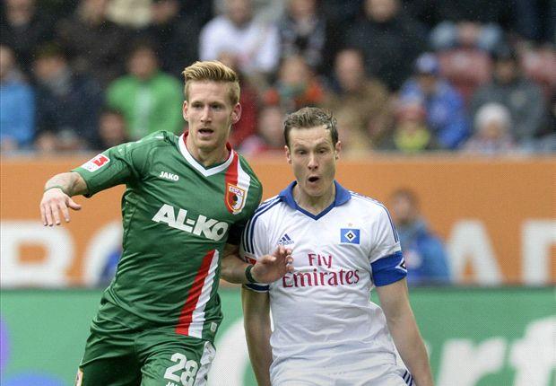 Augsburg drukt HSV verder in de problemen