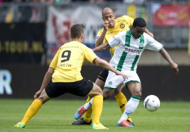 Roda profiteert niet van overtal tegen Groningen