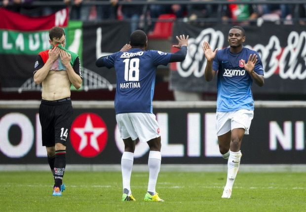 Twente wint ruim na valse start bij NEC