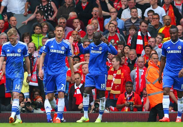 Liverpool 0-2 Chelsea: Ba & Willian blow title race open after Gerrard slip