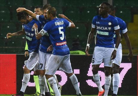 Fofana fa 'Sek...ko' il Palermo, tris Udinese