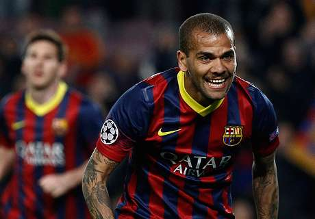Dani Alves: I don't feel valued at Barca