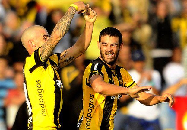 Macaluso y Aguiar marcaron tres de los cinco goles