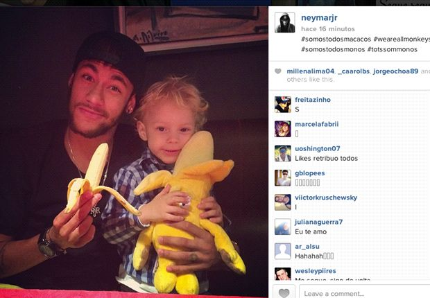 'We are all monkeys' - Neymar starts anti-racism campaign