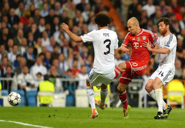 Robben: Madrid tactics surprised me