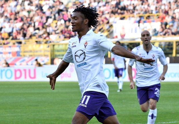 Cuadrado, ala della Fiorentina