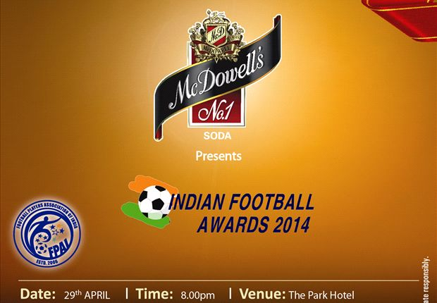 FPAI's Indian Football Awards to be held in Kolkata