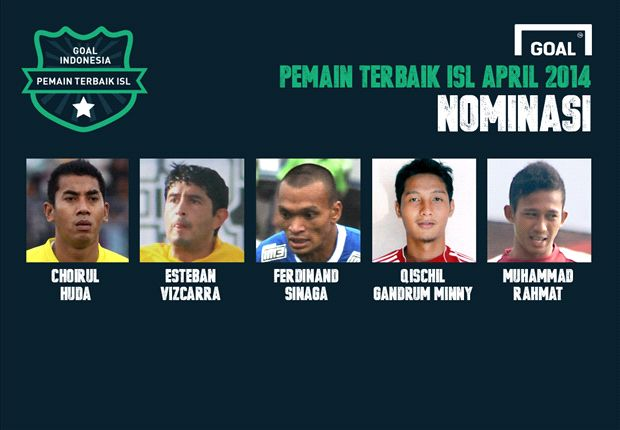 DEBAT: Siapa Pemain Terbaik Indonesia Super League April 2014 Pilihan Anda?