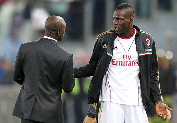 Balotelli podría estar enfrentado con Seedorf