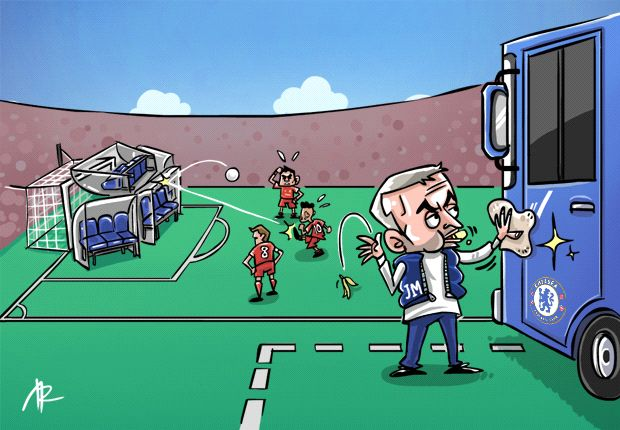 'Chelsea parked two buses, not one' - Mourinho leads defensive rebirth