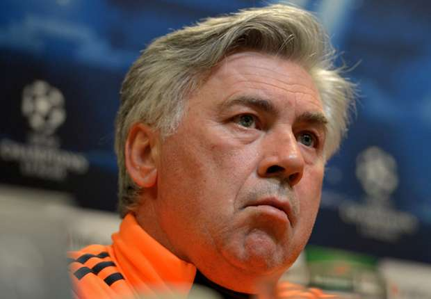 Real will set out to score against Bayern, says Ancelotti
