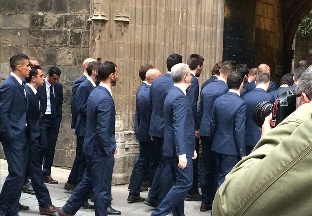 Barcelona bids final farewell to Tito Vilanova