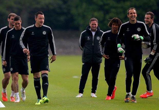 Cech, Hazard and Terry return to training ahead of Atletico clash