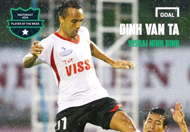Pemain Terbaik Asia Tenggara Pekan Ini (21-27 April 2014): Dinh Van Ta