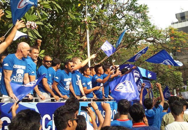 Bengaluru FC's Open Bus Parade captures the imagination of Garden City