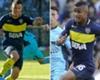 Así debutaron Solís y Barrios en Boca