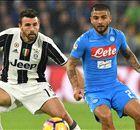 Napoli-Juve di Coppa, azzurri per il rinvio