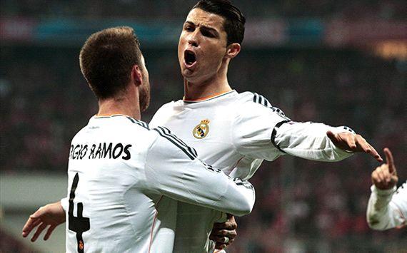 Cristiano Ronaldo Bayern Munich Real Madrid Champions League Semi Final 04292014