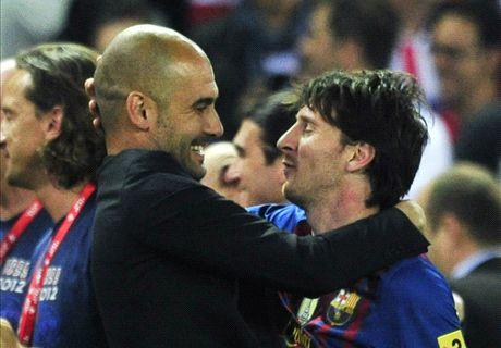El pedido de Guardiola a Messi