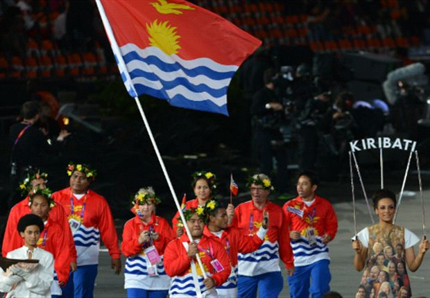 En la República de Kiribati, el torneo es de 23 equipos y juegan cuando pueden...
