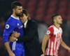 Costa's dark side 'in the past', says Conte