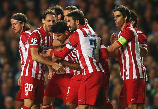 Costa credits Simeone for 'historic' win over Chelsea