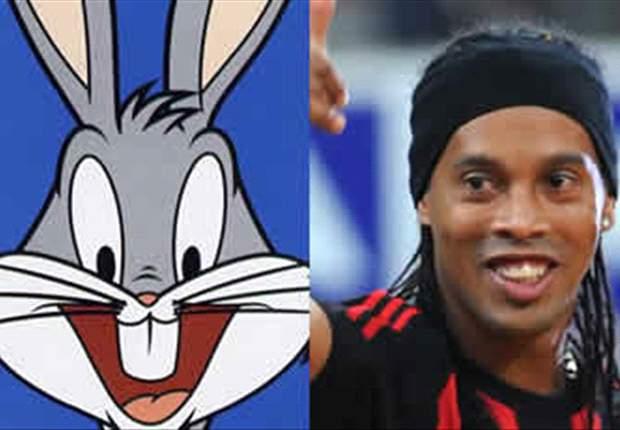 TRIVIA: Apa Hubungan Bugs Bunny Dengan Ronaldinho?