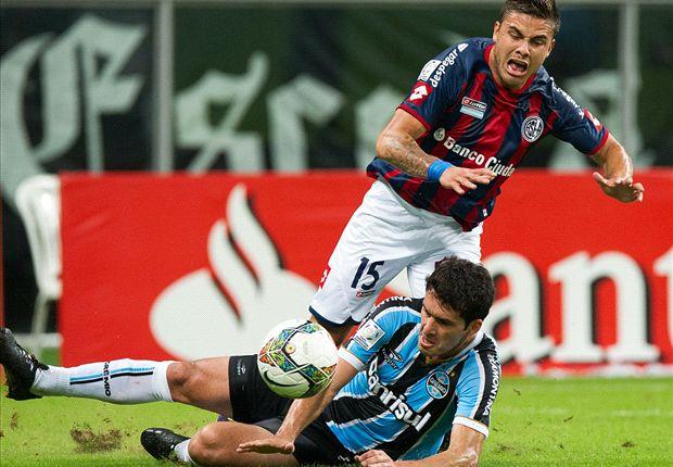 En los penales y por Torrico, San Lorenzo eliminó a Gremio