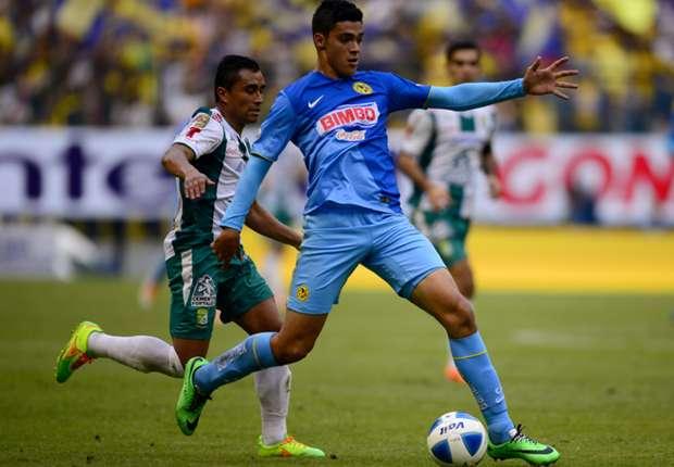 America striker Raul Jimenez