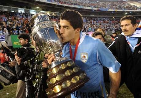 La camiseta de Argentina en la Copa América