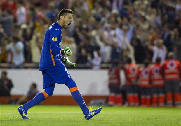 Diego Alves querría renovar con el Valencia