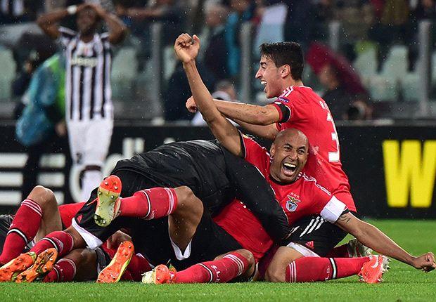 Heroico empate de Benfica ante Juventus