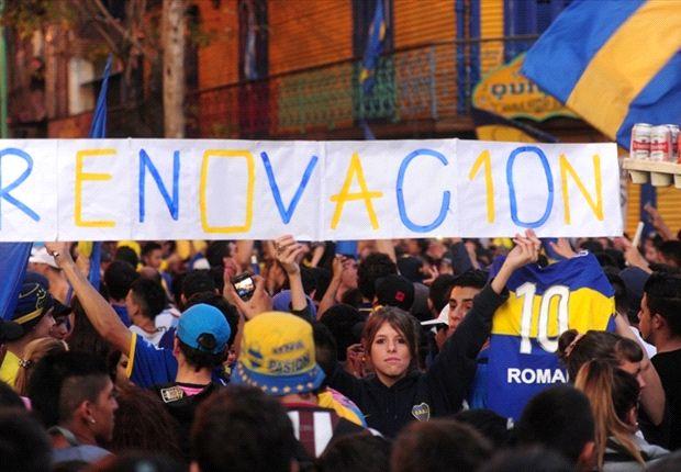 Más de 6.000 hinchas Xeineizes pidieron por Román.