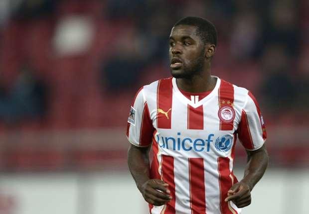 Olympiacos' on-loan forward Joel Campbell