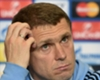 Rebrov impressed by Dynamo's desire despite Benfica defeat