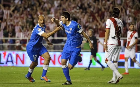 Resumen: Rayo Vallecano – Athletic: 0-3 /2013/14