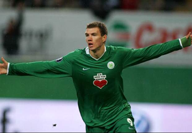 Dzeko To Snub Arsenal In Favour Of Contract Extension At Wolfsburg