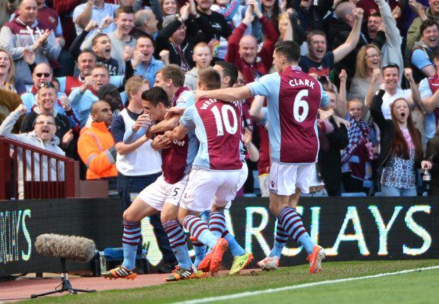 Aston Villa: 2013-14 season in statistics