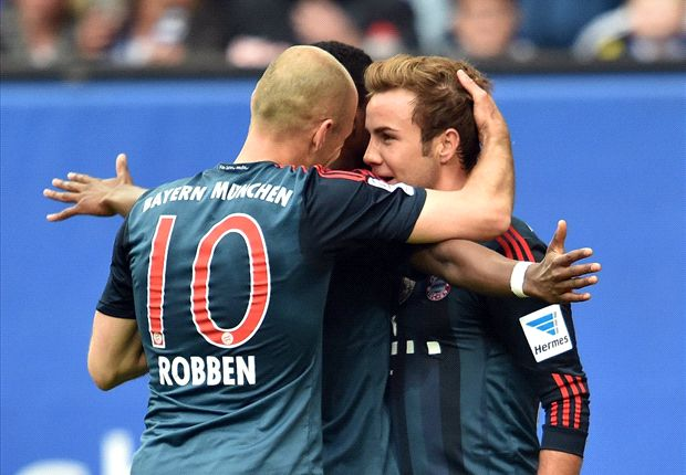 Hamburg 1-4 Bayern: Gotze at the double as Bavarians bounce back