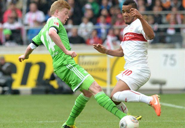 Kevin de Bruyne traf gegen Stuttgart zur zwischenzeitlichen 1:0-Führung