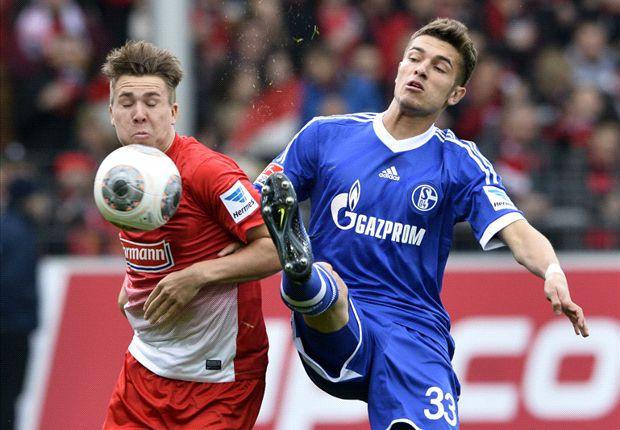 Zwischen Freiburg und Schalke ging es richtig zur Sache