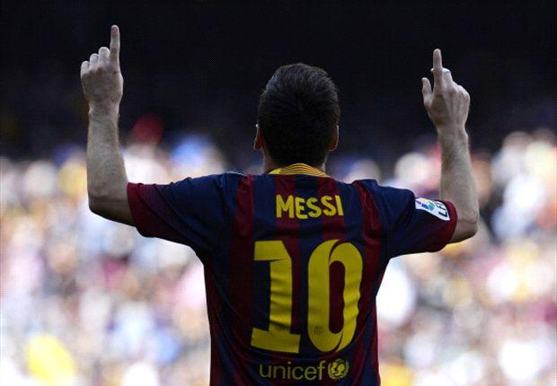 Auch Lionel Messi konnte seinen FC Barcelona nicht zum Sieg führen