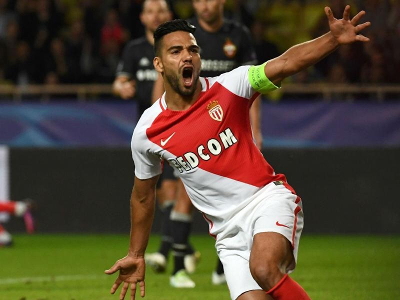 Monaco, riecco Falcao: ritorno al goal nella fase finale di CL dopo 6 anni e mezzo
