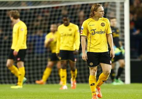 Roda relegated from Eredivisie